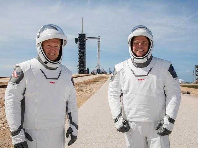 Ikväll ska SpaceX skicka astronauter till ISS