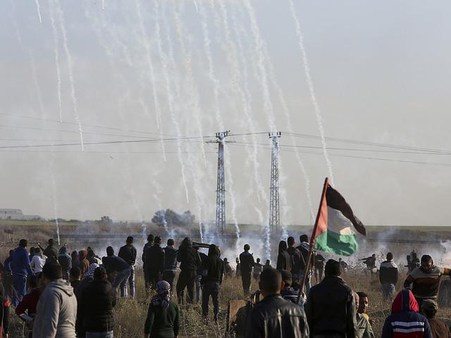 Två döda flyganfall mot Gaza