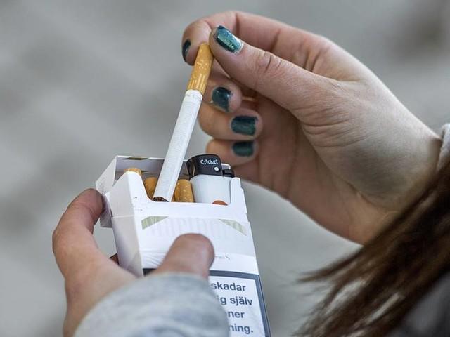 Ny fysisk träning minskar nikotinsuget