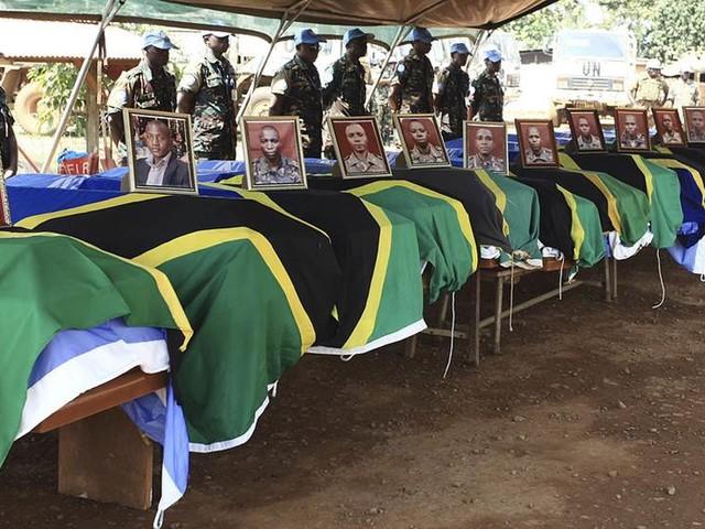 Kongolesiska soldater dödade av rebeller