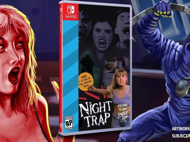 Night Trap släpps till Nintendo Switch i sommar