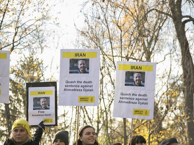 Medborgarskap till dödsdömd retar upp Iran