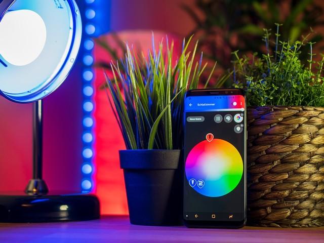 Marknaden för smart belysning värd 28 miljarder dollar år 2025