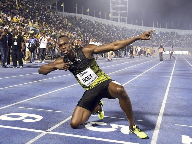 Känslofyllt hemmafarväl av Bolt