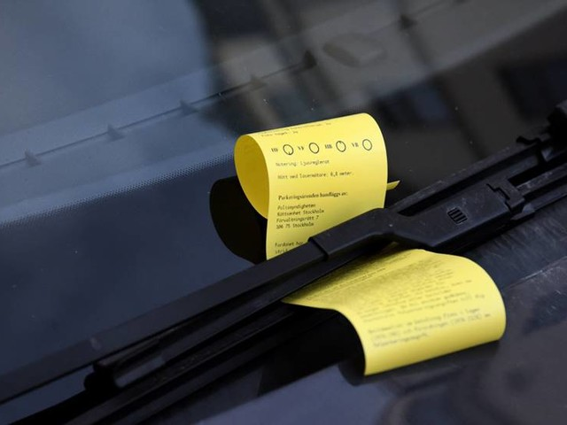 70000 parkeringsböter kan vara felaktiga