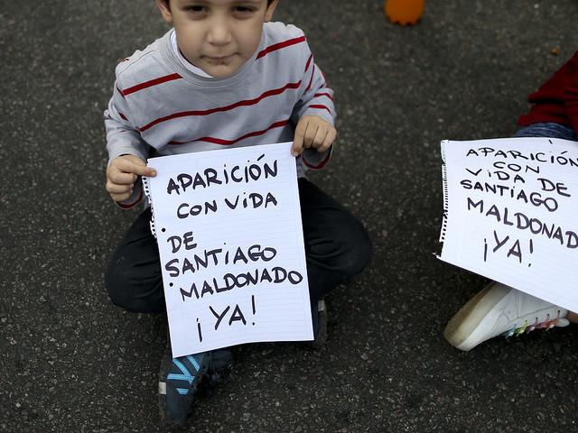 Argentina kräver svar om försvunnen aktivist
