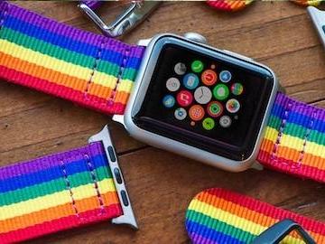 Apple skänker del av intäkter från klockarmband till HBTQ-grupper