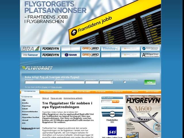 Tre flygplatser får nobben i nya flygutredningen