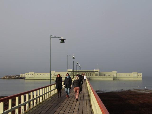 Sista doppet på Ribersborgs kallbadhus före stängningen
