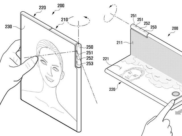 Samsung ansöker om patent på roterande kamera