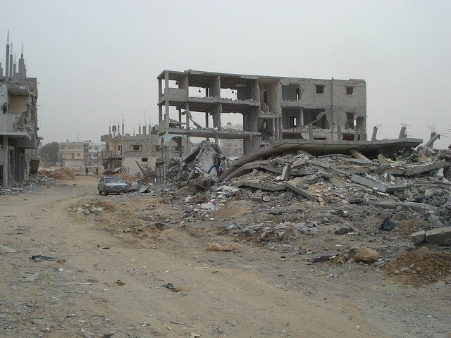 Gazas ekonomi i fritt fall