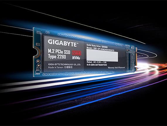 Gigabyte haussar SSD med PCIExpress 4.0 och hastigheter nära 5GB/s