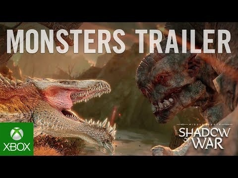 Gamescom-trailer för Middle Earth: Shadow of War