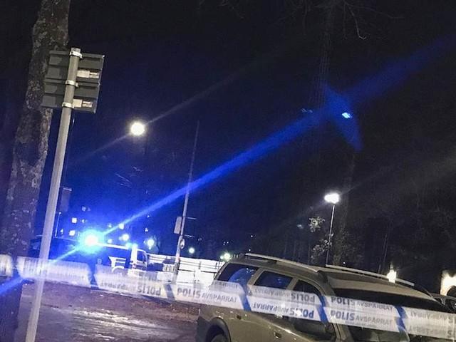 Man skottskadad i Stockholm