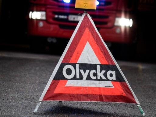 Misstänkt smitningsolycka – personbil och motorcykel kolliderade