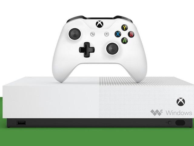 XboxOneS All-Digital Edition utan optisk läsare hittar ut på webben