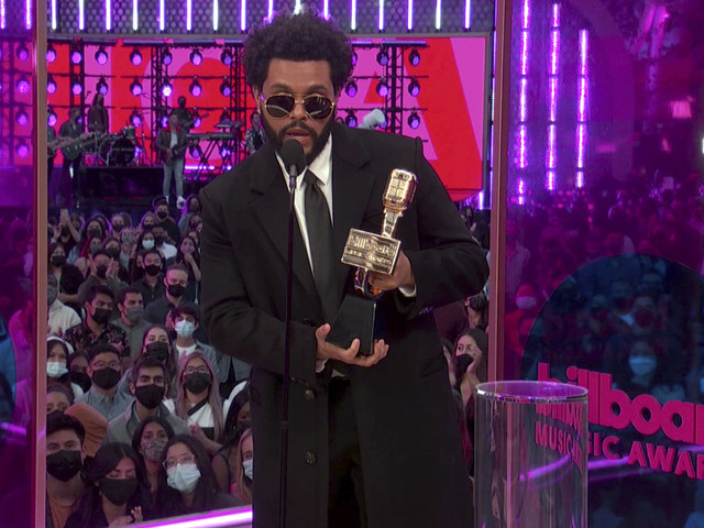 The Weeknd storvinnare på Billboard-gala