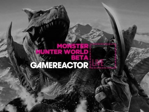 Gamereactor Live: Vi spelar Monster Hunter: World-betan