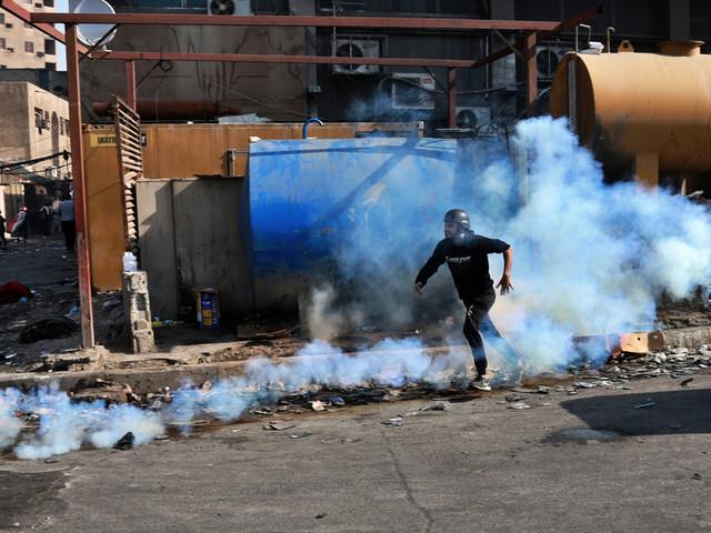 Tårgasgranater fortsätter skörda offer i Irak