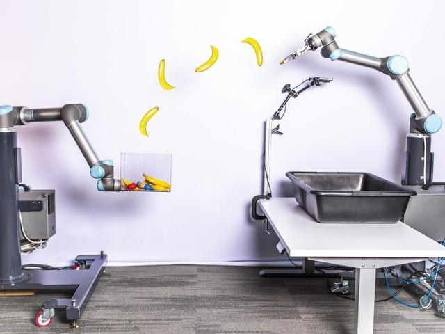 Googles banankastande robot är en dubbelt så snabb plockrobot