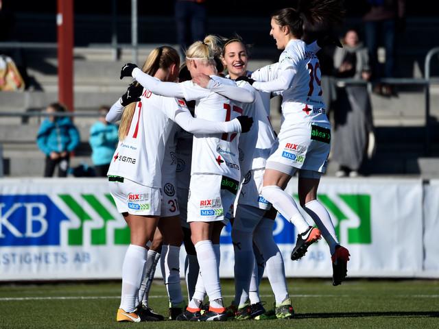 FC Rosengård utklassade nykomling