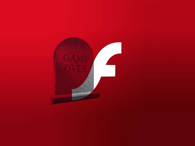 Adobe dödförklarar Flash efter 2020