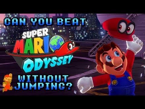 Snubbe spelar Super Mario Odyssey utan att hoppa