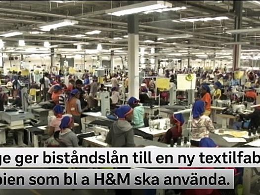 """HM:s affärsidé avslöjar """"den moraliska supermakten"""" Sverige"""