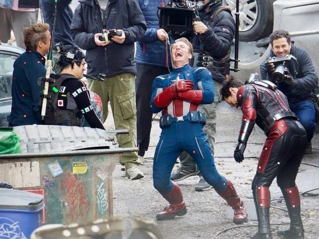 Nya bilder från inspelningen av Avengers 4