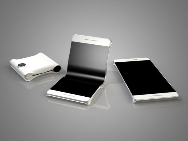 Samsung siktar på att lansera smartphone med vikbar skärm nästa år