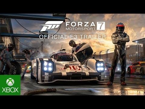 Forza Motorsport 7 kräver 100GB av hårddisken