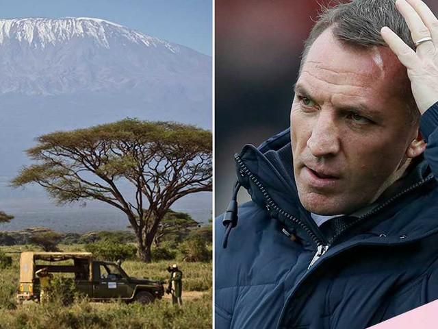 """Det var som Kilimanjaro"""