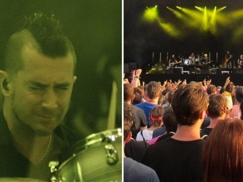 Offsprings trummis vill inte vaccinera sig – får lämna bandet