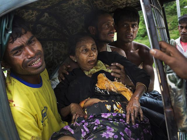 Fler rohingyer skadade av landminor