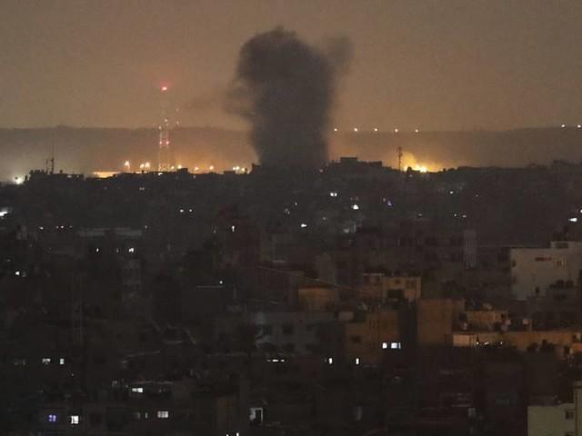 Lugn i Gaza efter uppgifter om eldupphör