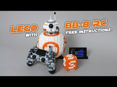 Radiostyrd version av Lego-BB-8