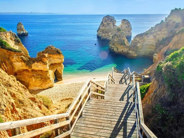 Algarvekustens sju finaste stränder