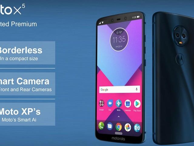Motorolas nya smartphones läcker ut, inklusive Iphone X-liknande Moto X5