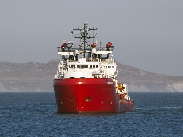 Hundratals migranter räddade på Medelhavet