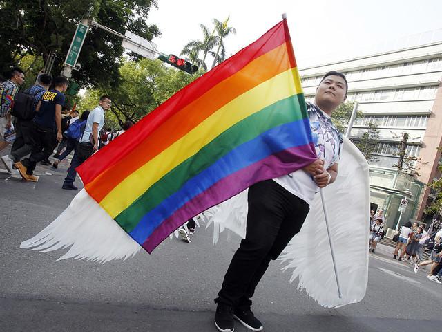 Lagförslag om samkönat partnerskap i Taiwan