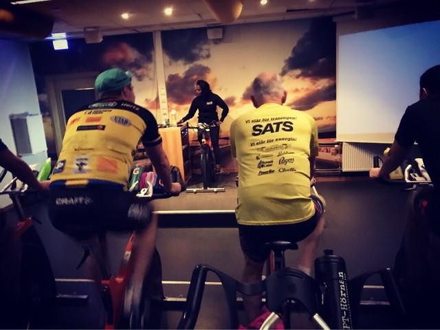 Cykling med Team Rynkeby ikväll