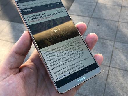 Vi har tittat på Huawei Mate 10 Pro