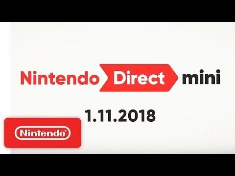Nintendo håller Mini-låda med Switch-nyheter