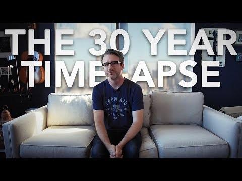 Han ska göra en 30 år lång timelapse