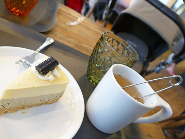 En fredag med café och shopping