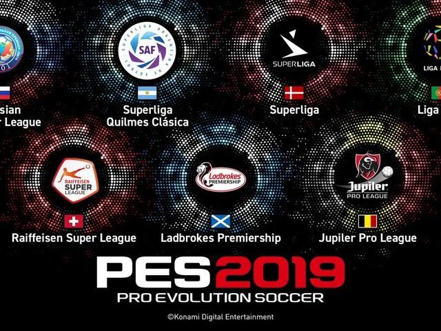 Konami licensierar sju nya ligor till PES