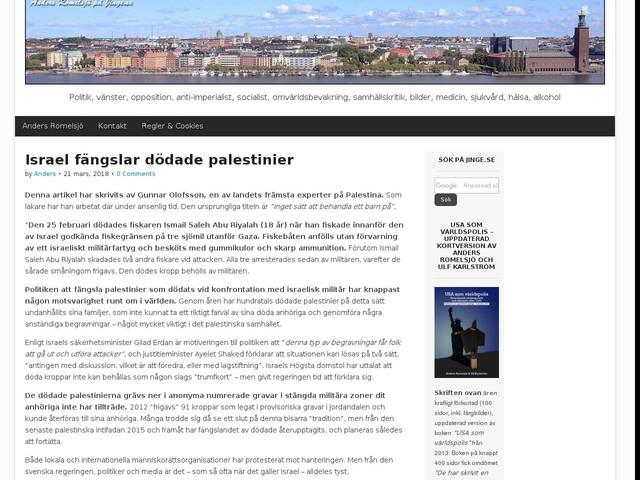 Israel fängslar dödade palestinier