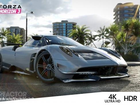 Forza Horizon 3 får Xbox One X-uppdateringen idag