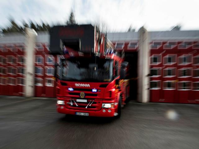 Bilbrand på Gullvik