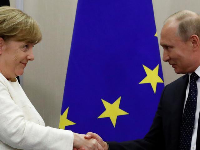 Putin och Merkel träffas – och trivs?